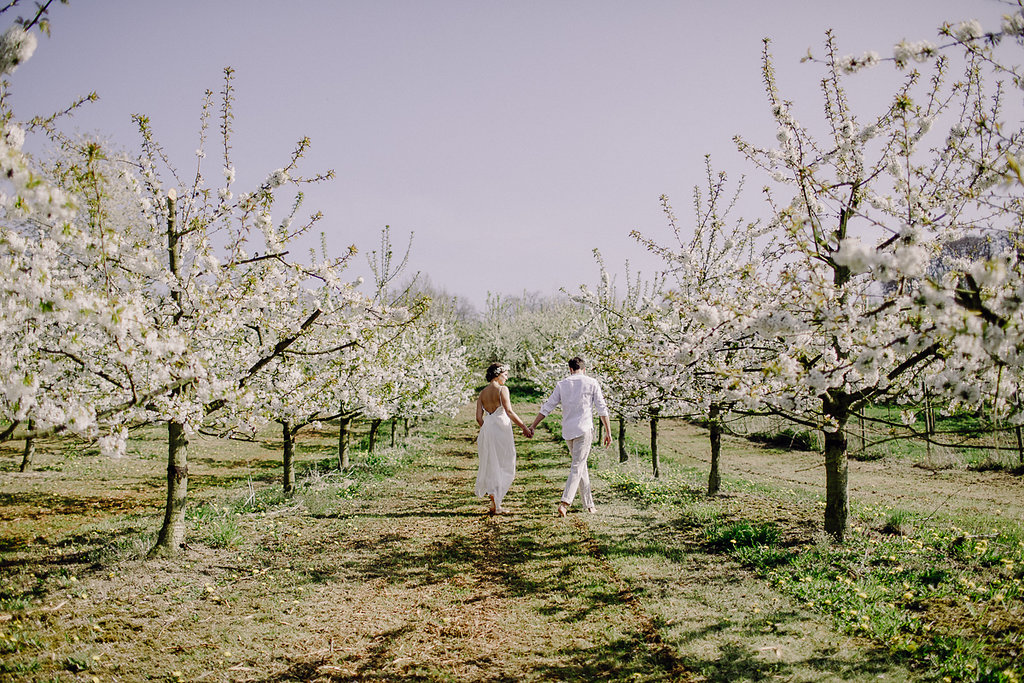 Kirschblüte Hochzeit Ideen