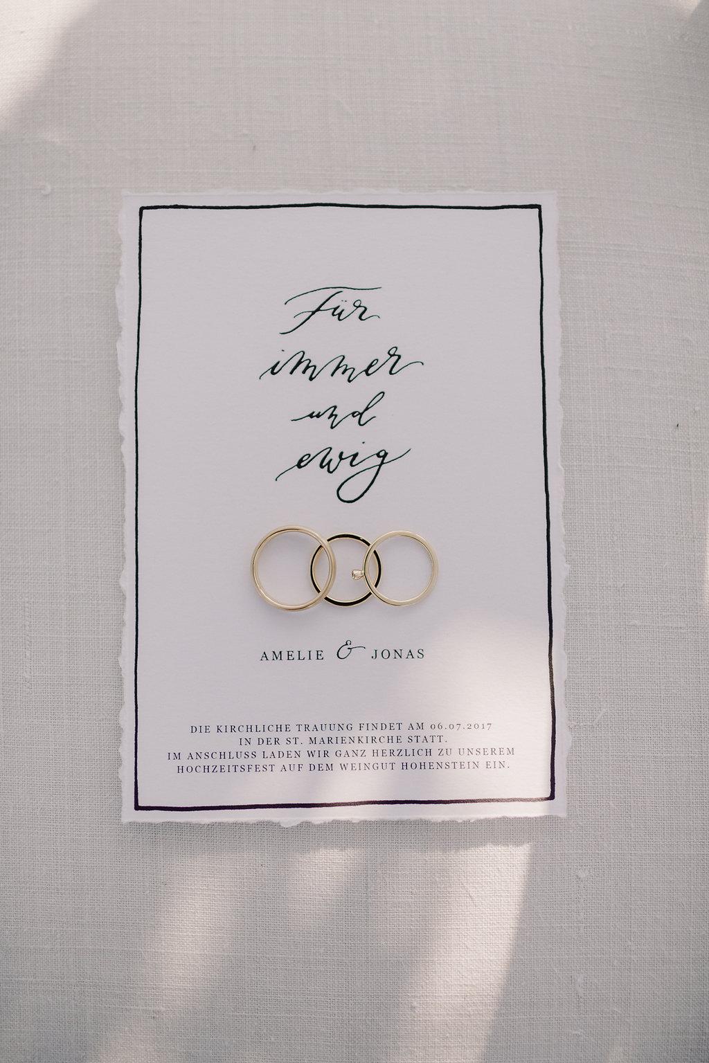 Einladungskarte Für immer und ewig download Hochzeit