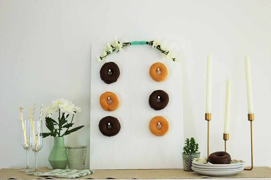 DIY Donut Wall zum Selbermachen für Hochzeit