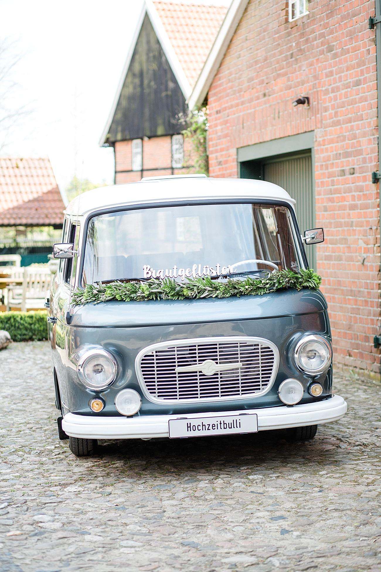 Hochzeitsbulli Hochzeitsauto
