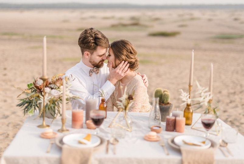 Desert Greenery Hochzeit – Inspirationen mit Kakteen