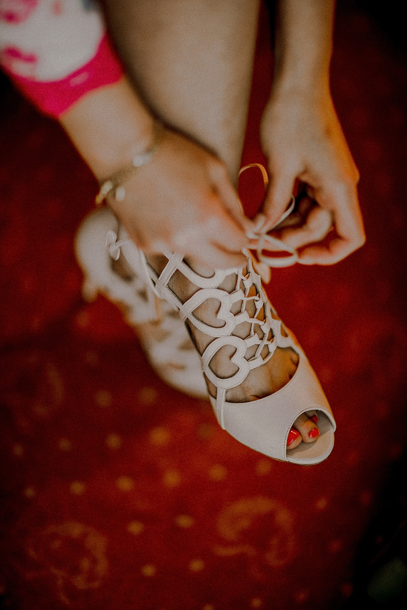 Hochzeit Brautschuhe Charlotte Mills