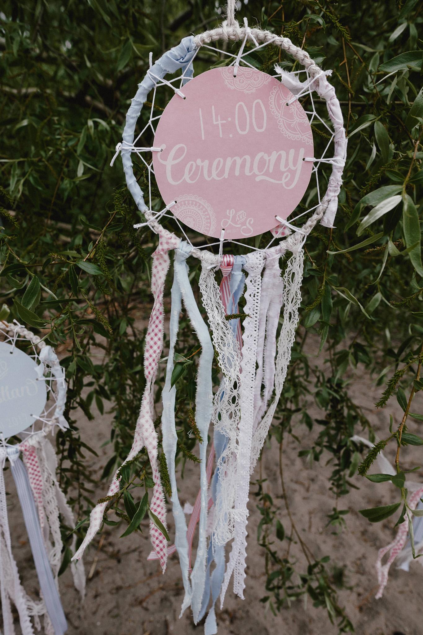 Traumfänger Deko Hochzeit