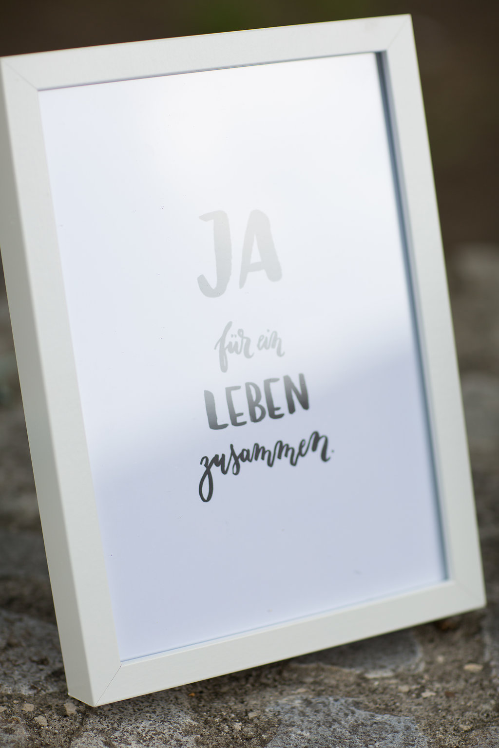 Hochzeit Trauspruch Kunstdruck