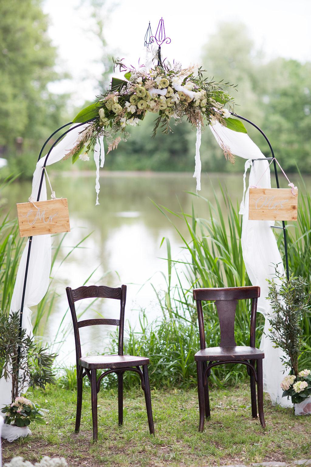 Traubogen Hochzeit freie Trauung