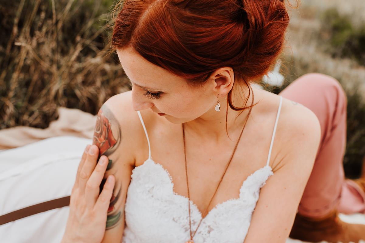 Hochzeit Schmuck rosegold