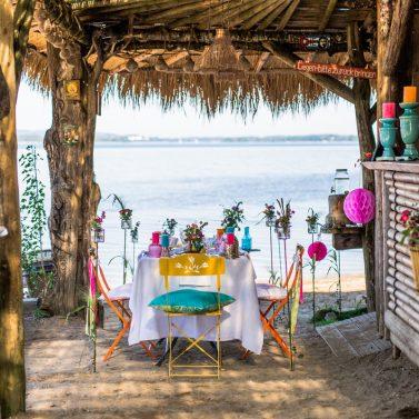 Bunte Boho Sommer Beach Party mit Karibik Flair