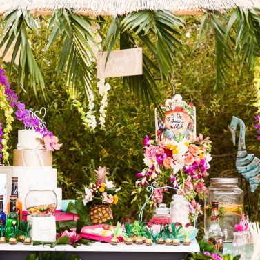 Tropical Wedding – Ideen für eure Strandbar