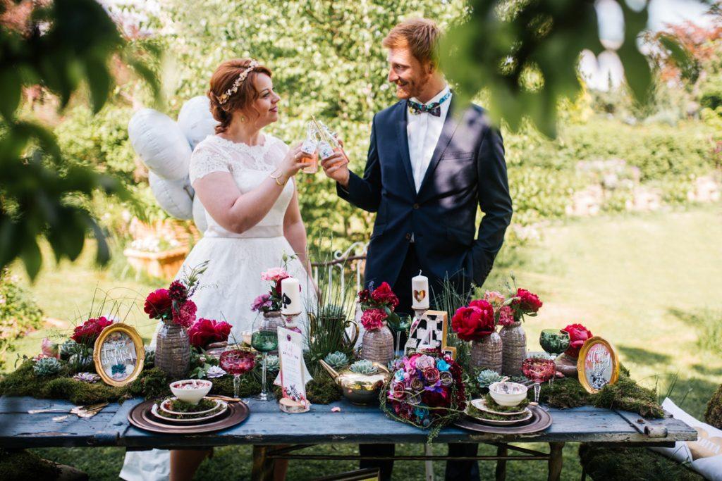 Heiraten wie Alice im Wunderland