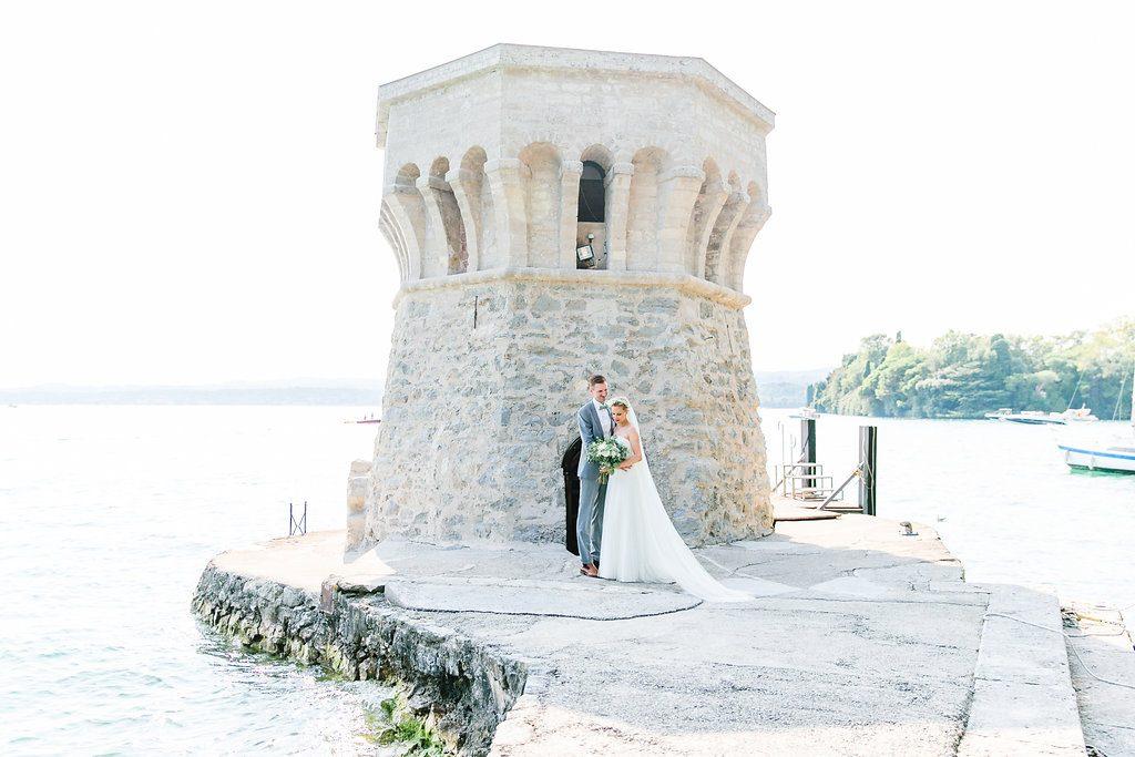 Mediterrane Greenery Hochzeit am Gardasee