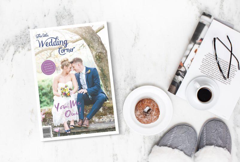 Das Hochzeitsmagazin von The little Wedding Corner für 2018 ist da!