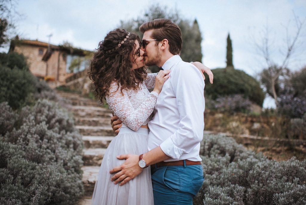 Inspirationen für eine lässige Toskana Hochzeit