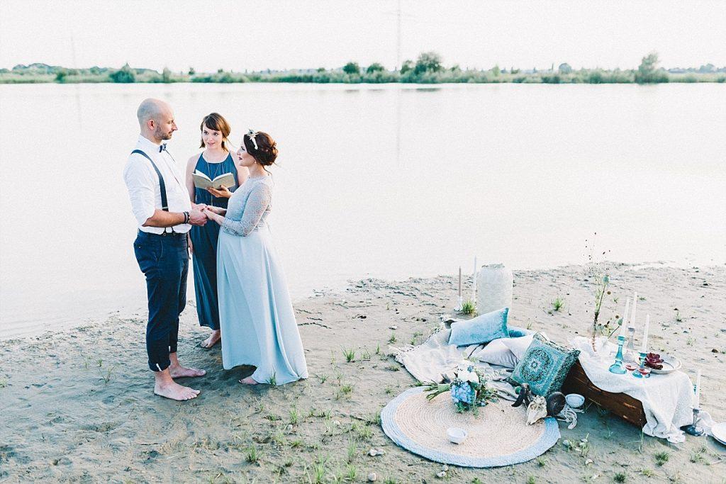 Ideen für eine Maternity Wedding