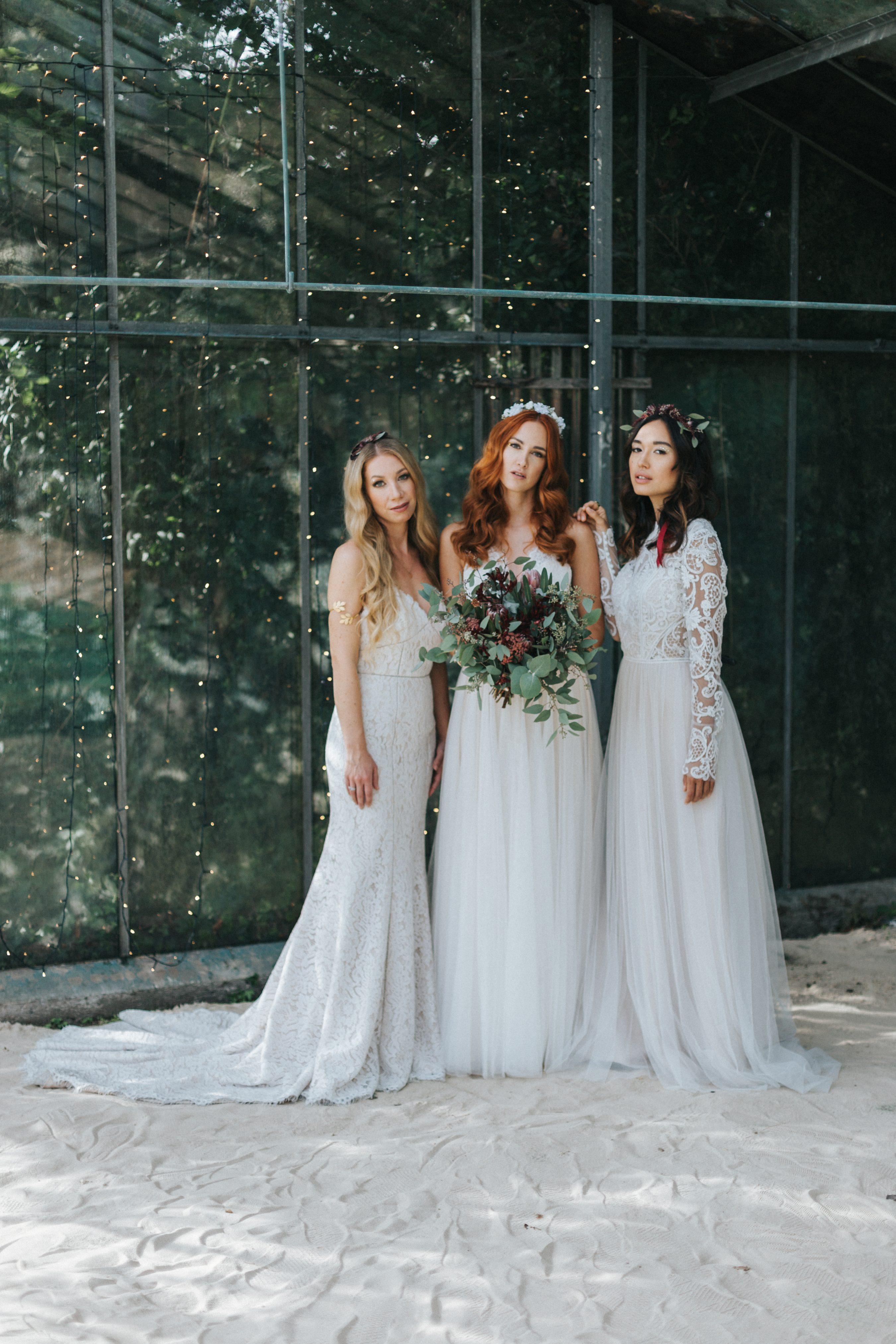 Brautfrisur 2018, Brautfrisuren Ideen, Brautfrisuren offene Haare