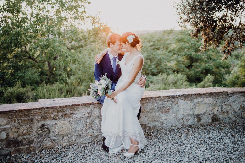 Italienische Hochzeit in der Toskana