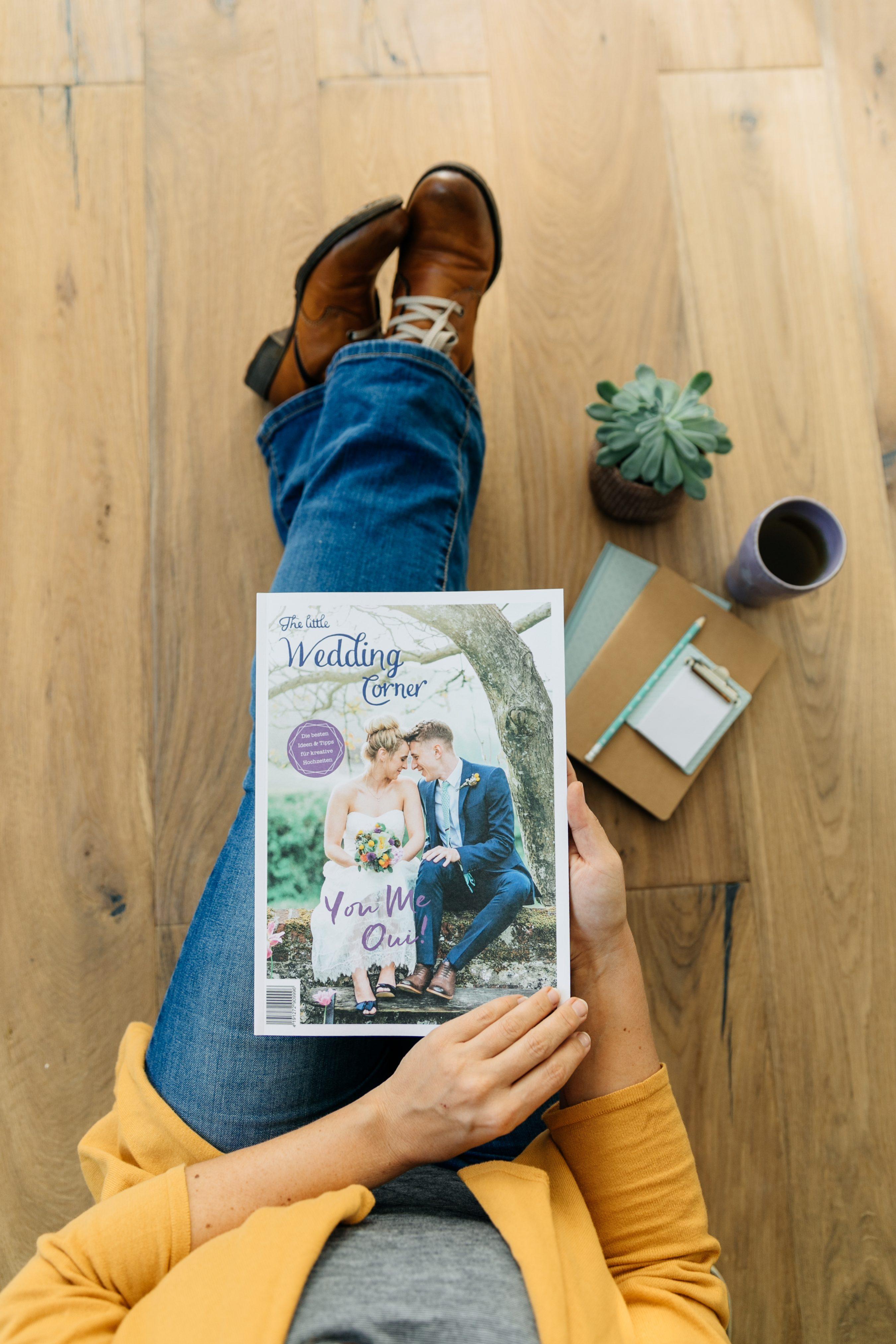 Hochzeitsmagazin 2018 The little Wedding Corner, die schönsten Hochzeitsmagazine