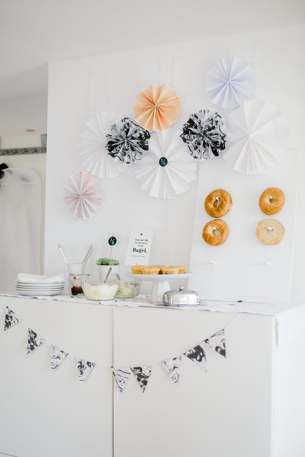 DIY Donut Wand, DIY Bagel Wand, DIY Donut Wand Hochzeit