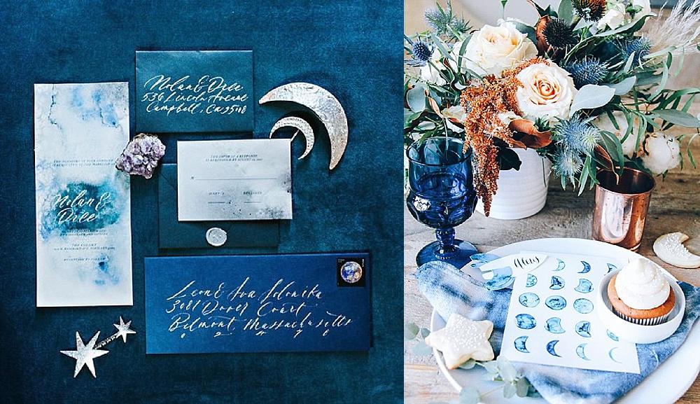Hochzeitstrends 2018 (II): Mond und Sterne Hochzeiten