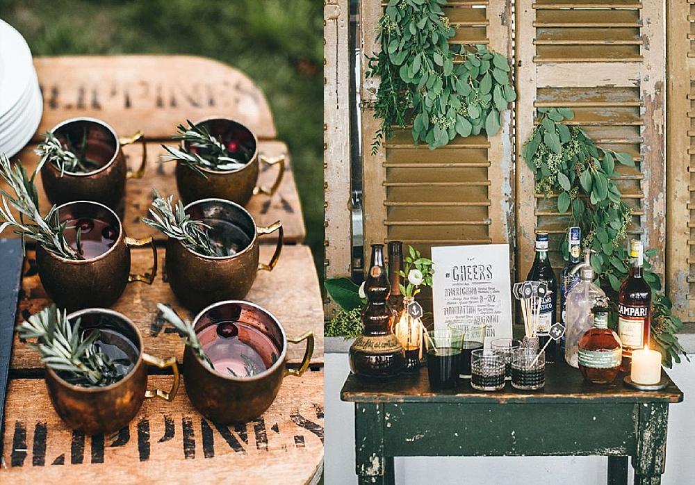 Hochzeitstrends 2018, Hochzeit Getränkebar
