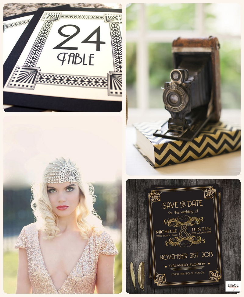 Great Gatsby Hochzeit