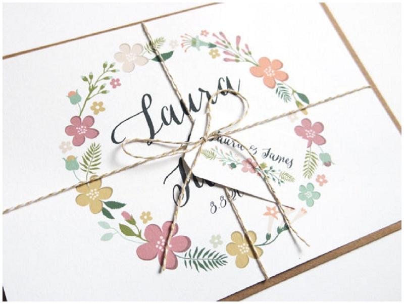 Die schönsten Einladungskarten für Hochzeiten von Something New Stationery bei Etsy