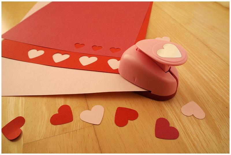 Motivstanzer Herzkonfetti