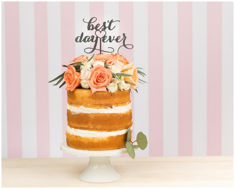 Die 5 schönsten Cake Topper zur Dekoration der Hochzeitstorte