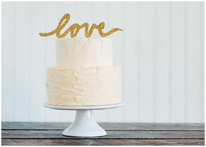 Cake Topper Hochzeitstorte Emily Steffen