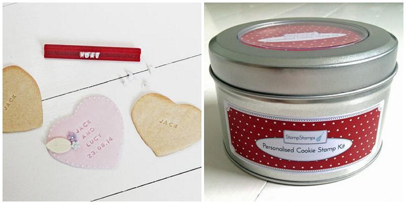 Save the Date Idee Hochzeit Keksstempel von stompstamp