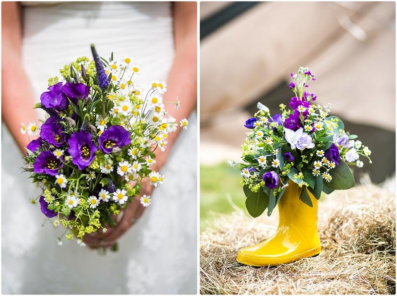 Dominic Whiten rustikale DIY Hochzeit in Kent