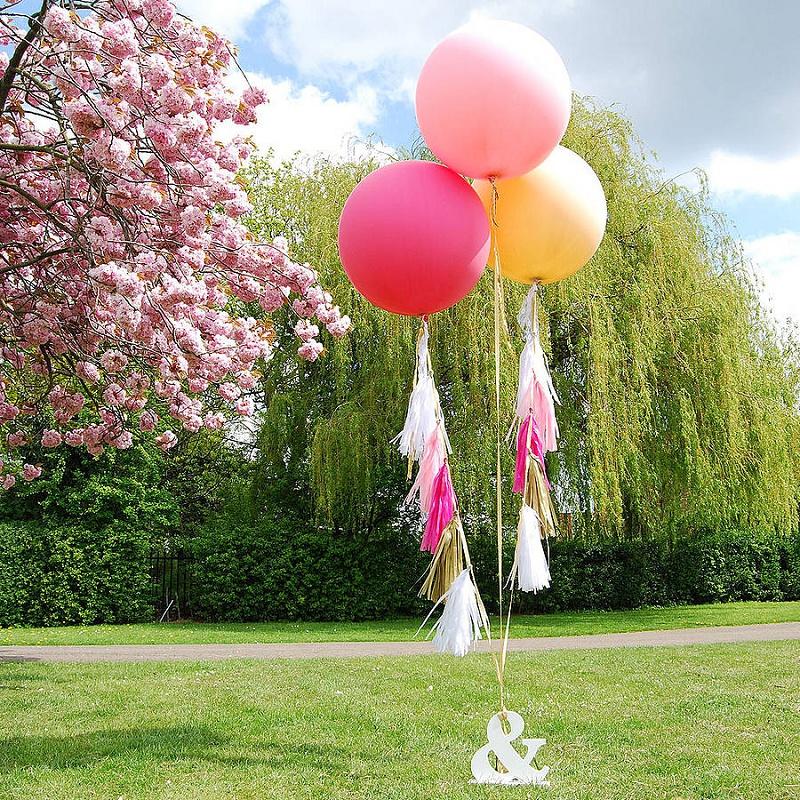 Luftballon Deko Hochzeit