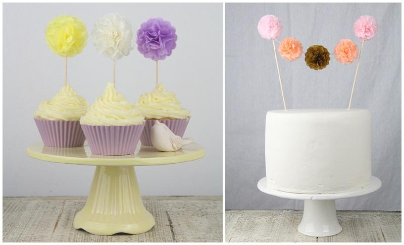 Pom Pom Manufaktur Cake Topper
