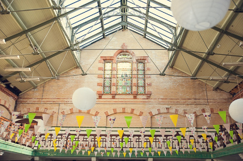 Manchester DIY Hochzeit Victoria Baths von mr Sleeve