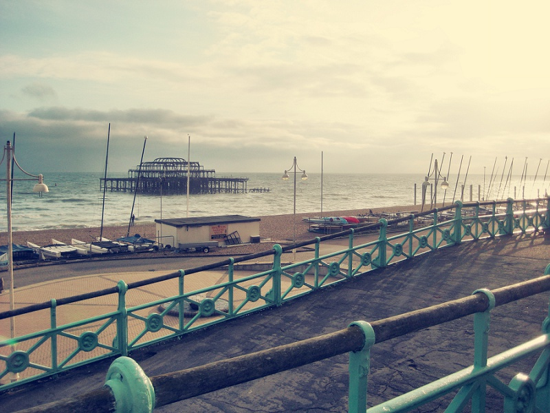Brighton West Pier England