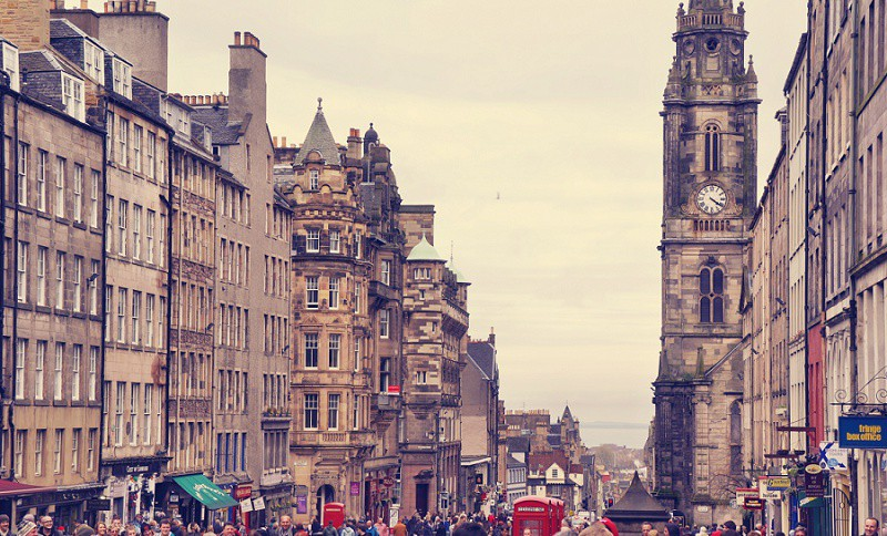 Royal Mile Edinburgh - Schottland