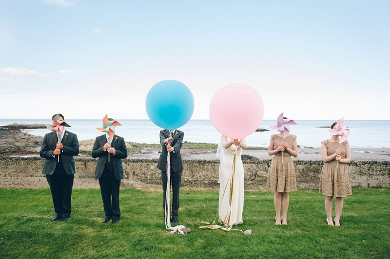 DIY Hochzeit am Meer in Belfast von Brideen Baxter