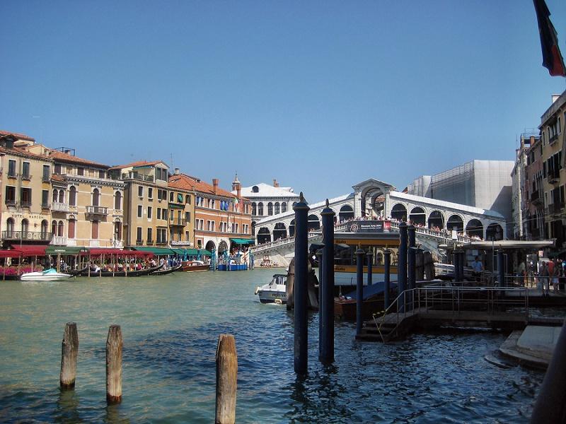 Auf Flitterwochen: Rialto-Markt und die Hinterhöfe Venedigs