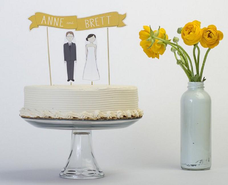 Individualisierbare Cake Topper und Schilder von Ready Go