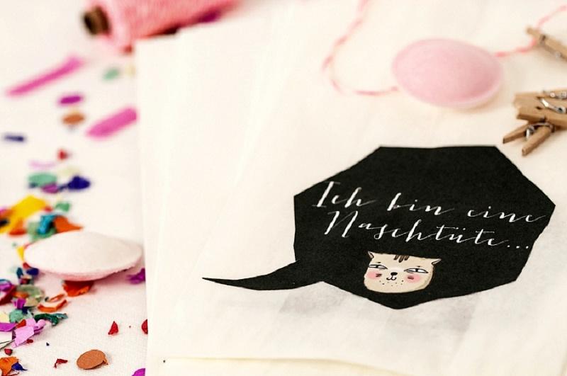Beglückende Hochzeitsdeko von gluecksschauer