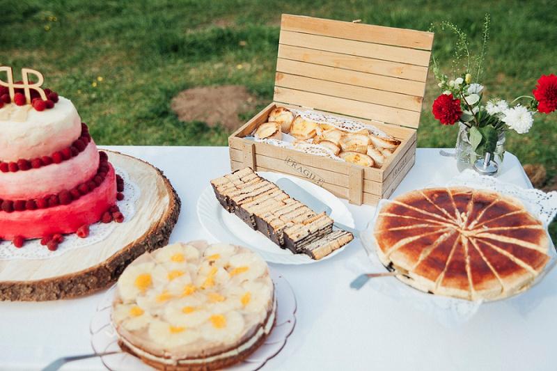 Kuchenbüffet Hochzeit