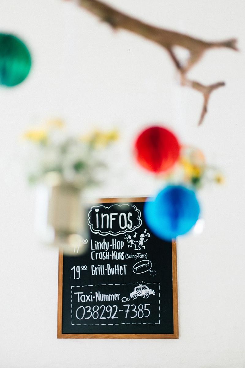 Hochzeit Tafel