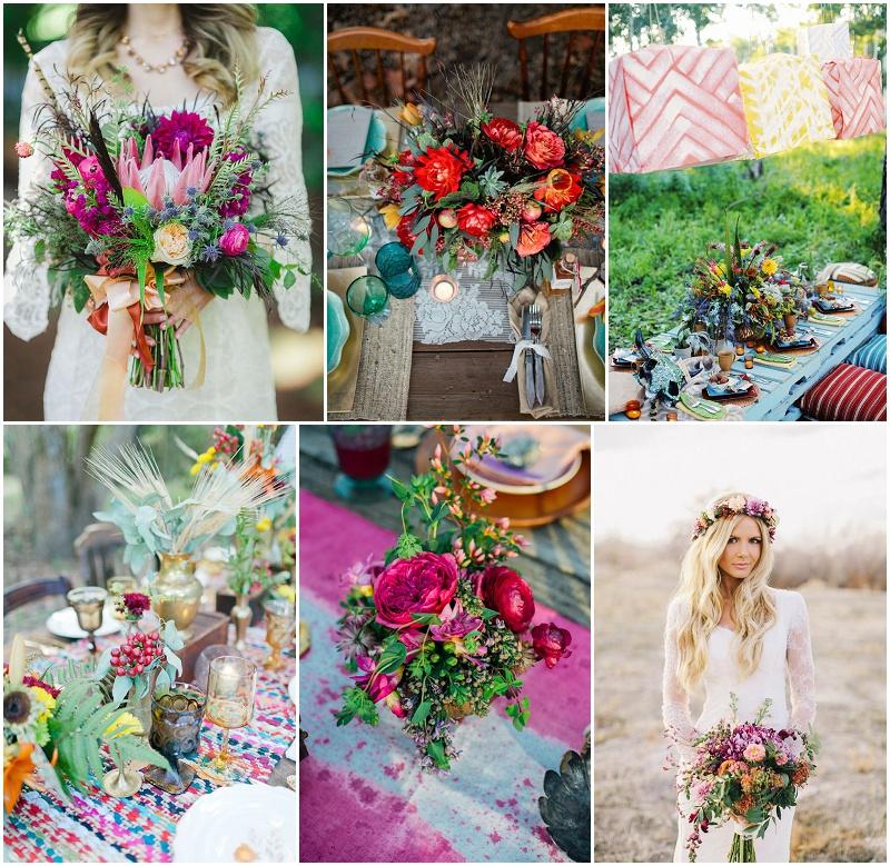 Trend 2015: Boho Chic Hochzeit