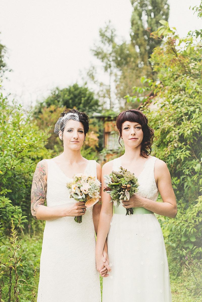 gleichgeschlechtliches Brautpaar