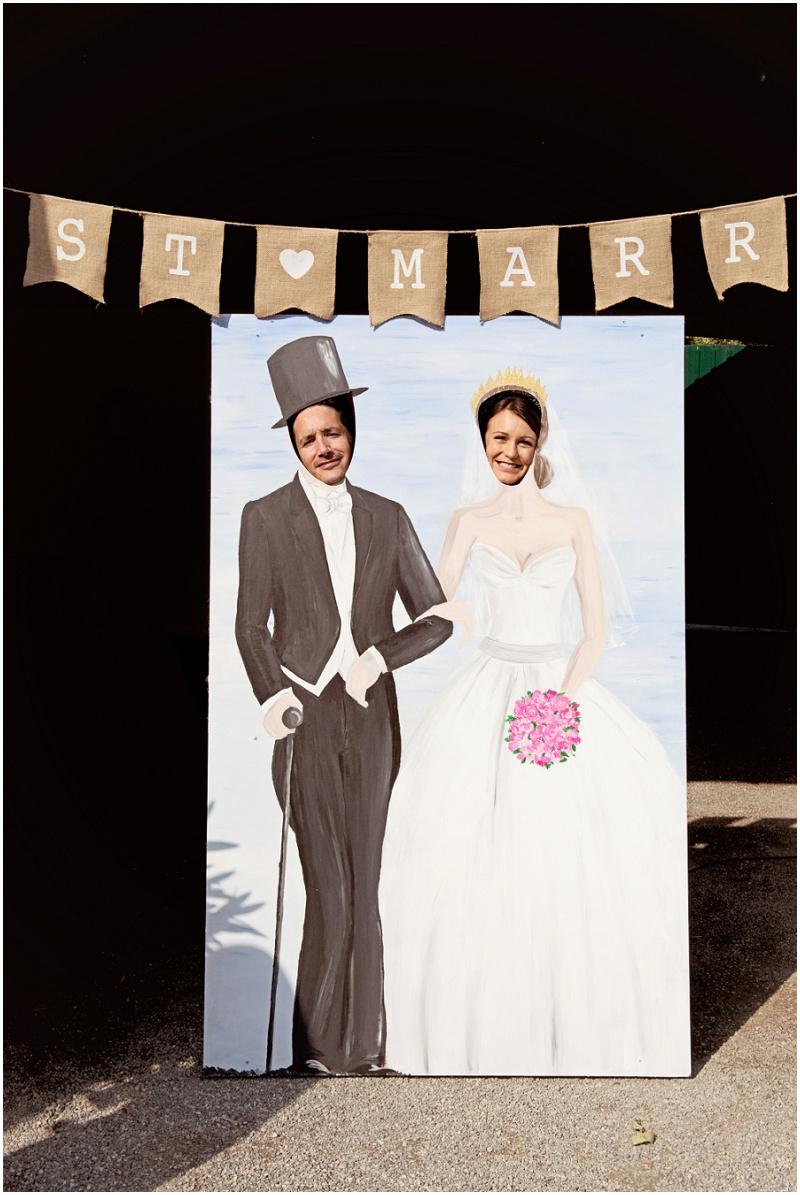 Fotowand Hochzeit