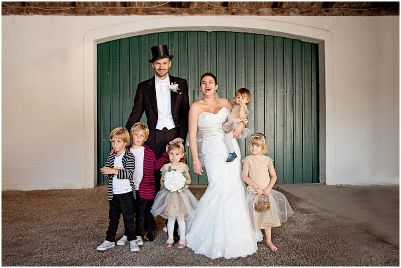 Rustikale DIY Hochzeit von candid moments