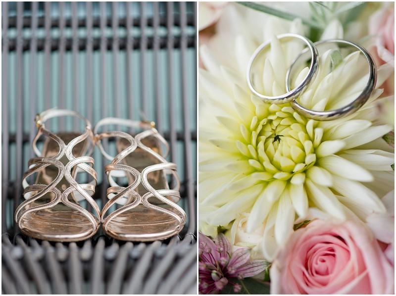 Brautschuhe Hochzeit metallic