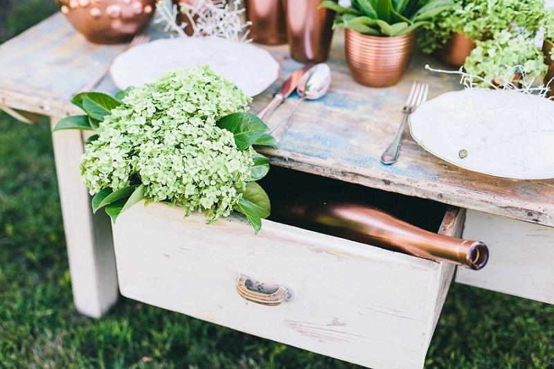 Hochzeit Vintage Tisch