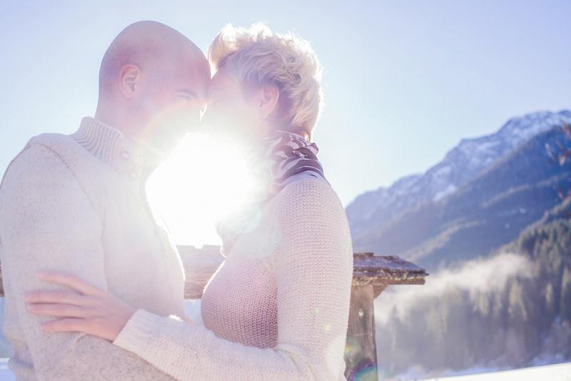 Verlobungsshooting Winter