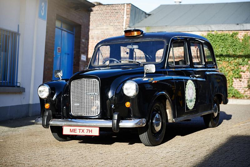 London cab Hochzeit