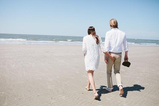 Hochzeit am Strand Boho Norderney
